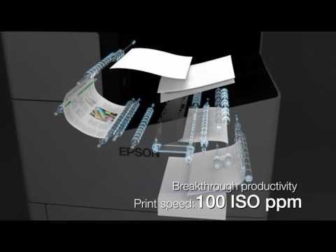 WorkForce Enterprise A3 Colour Multifunction Network Printer-A Smarter Approach to Productivity