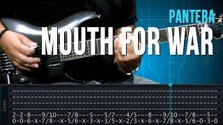 Pantera - Mouth For War (aula de guitarra completa)