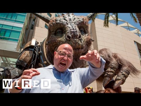 monster - Angry Nerd challenges Bodock the Giant Creature to a round of movie monster trivia. Despite Angry Nerd's best efforts to trick the massive beast, Bodock comes out ahead with a few tricks of...
