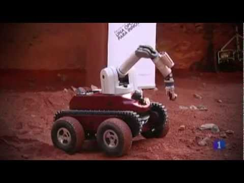 BARCELONA MOON TEAM and the European Robotics Week at GMV: 2nd Robotics Day