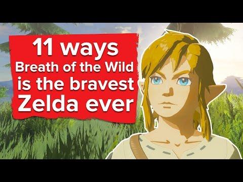 11 Ways Zelda Breath of the Wild is the Bravest Zelda Ever (видео)