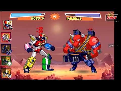 Chơi Run Run Super Five 5 anh em siêu nhân biến hình robot đánh quái  đi cảnh lụm vàng cu lỳ chơi ga - Thời lượng: 12:02.