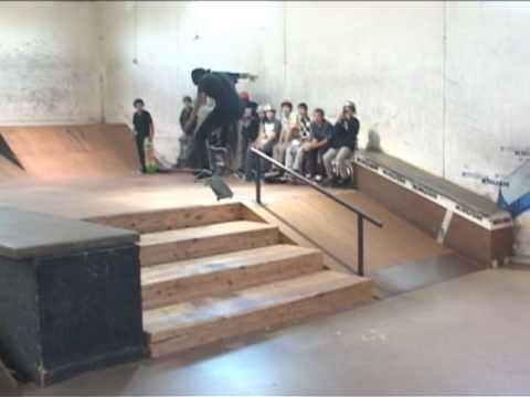 Adio demo at Krush Skatepark