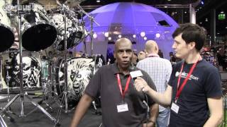 Premier announces drum kit series deal with Nicko McBrain and Iron Maiden at Frankfurt Musikmesse 2011