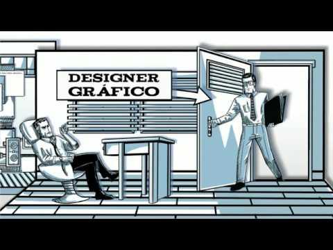 Designer - O que o designer gráfico faz. Vídeo muito bem elaborado que conta como funciona a profissão de designer gráfico. Fonte: http://www.pyxx.cc Roteiro, edição e ...
