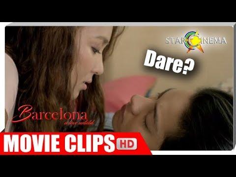 Iki-kiss ba ni Mia (Kathryn) si Ely (Daniel)?! | Barcelona: A Love Untold | Movie Clips