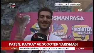 Gaziosmanpaşa'da Kaykay, Paten Ve Scooter Yarışı-Tgrt Haber