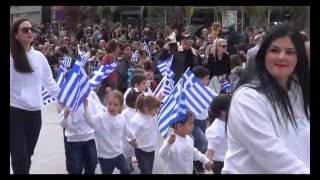 Ραφήνα 25 Μαρτίου 2016: Η μαθητική παρέλαση