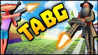 The New Fortnite!? TOTALLY ACCURATE BATTLEGROUNDS - TABS Battle Royale (TABG Gameplay)