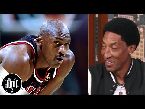 Scottie Pippen: There is no game where I would pick LeBron over Michael Jordan | The Jump