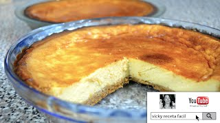 PAY DE QUESO | Vicky Receta Facil