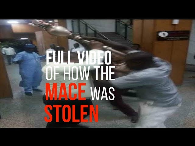 BreakingNews 19/4/18 - Stolen Mace Recovered By Nigerian Police Under Bridge