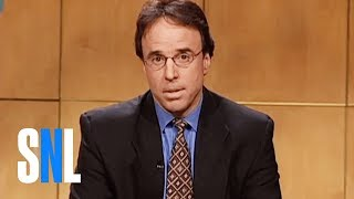 "Kevin Nealon explains to confused people that he's no longer on ""Saturday Night Live"", subliminally calling the cast over-rated white trash and assuring everyone that he has moved on to the trailer park. [Season 26, 2001]Weekend Update Summer Edition, Thursday, August 10, live, at 9/8c on NBC. Get more SNL: http://www.nbc.com/saturday-night-liveFull Episodes: http://www.nbc.com/saturday-night-liv...Like SNL: https://www.facebook.com/snlFollow SNL: https://twitter.com/nbcsnlSNL Tumblr: http://nbcsnl.tumblr.com/SNL Instagram: http://instagram.com/nbcsnl SNL Pinterest: http://www.pinterest.com/nbcsnl/"