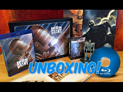 THE IRON GIANT | Ultimate Collector's Signature Ed  Blu-Ray | UNBOXING VIDEO