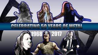 Video The #1 Biggest heavy  METAL Hits Of Each Year [ 1968 - 2017 ] MP3, 3GP, MP4, WEBM, AVI, FLV Juli 2019