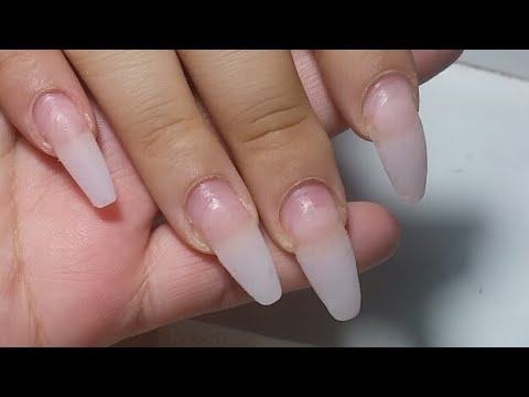Diseños de uñas - Hacemos Un Relleno uñas con relieve /3D basica/ bi sabrina