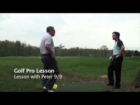 Lesson 9 with Peter Alignment Acid Test; #1 Most Popular Golf Teacher on You Tube Shawn Clement