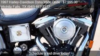 7. 1997 Harley-Davidson Dyna Wide Glide FXDWG for sale in Wichi