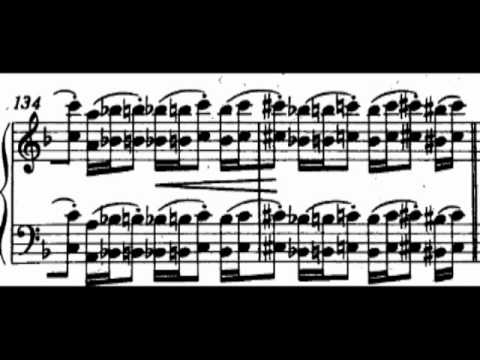 """F. Liszt - Etude no.4 """"Mazeppa""""  (Cziffra)"""