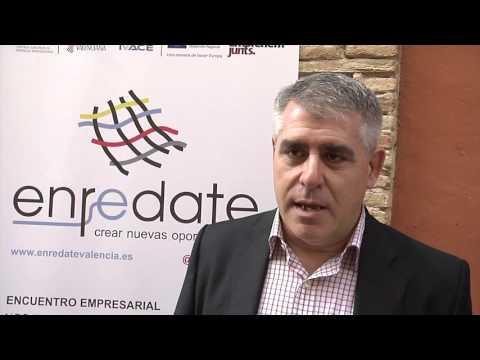 Entrevista Jesús Navarro Coordinador de Emprendimiento en Cámara Valencia en Enrédate Alzira