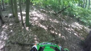 4. kx250 trials/ enduro