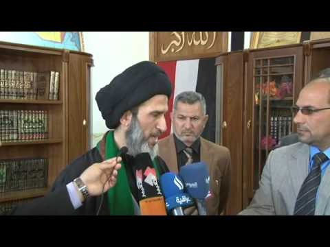 religious - The press conference of the religious authority Mr. Al-Hassany 