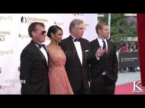 Robert Knepper and the cast of Texas Rising at 55th Monte Carlo TV Festivall
