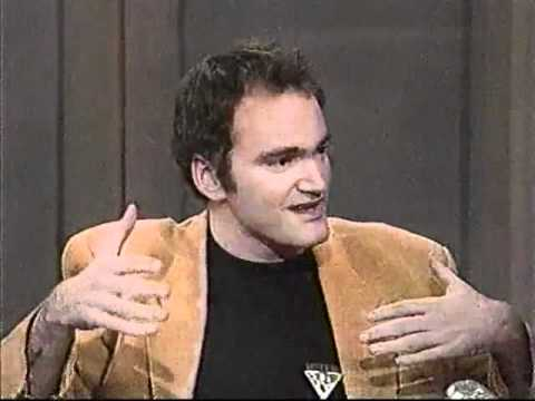 Quentin Tarantino u Davida Lettermana