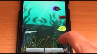 Free Aquarium 3D LWP YouTube video