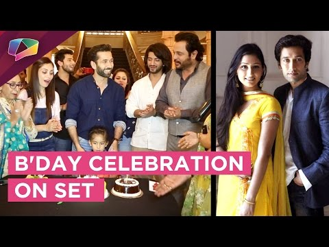 Surprise B'Day Bash For Nakuul On The Set | Disha