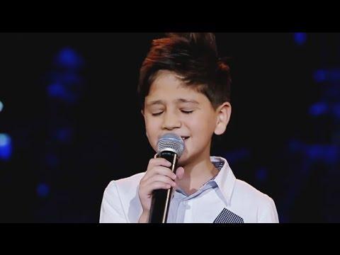 """عبد الرحيم الحلبي يغني موال """"ما كل من ذاق الصبابة"""" ببرنامج The Voice Kids"""