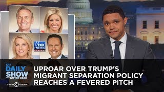 Video Uproar Over Trump's Migrant Separation Policy Reaches a Fevered Pitch   The Daily Show MP3, 3GP, MP4, WEBM, AVI, FLV Juni 2018