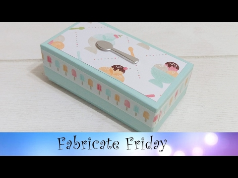 Silver Spoon Box featuring Stampin' Up! Products