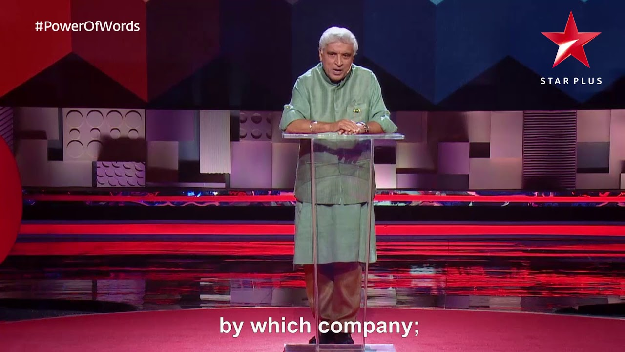 TED Talks India Nayi Soch | Javed Akhtar