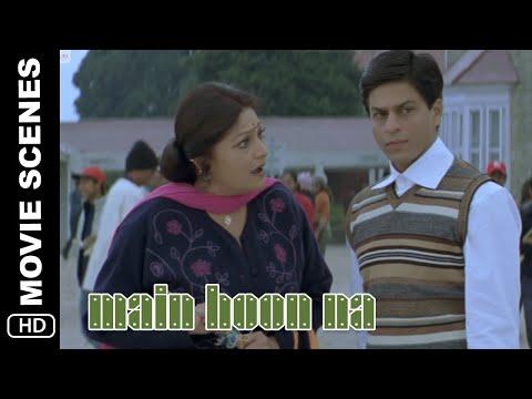 Main Mrs Kakkar | Main Hoon Na | Comedy Scene | Shah Rukh Khan, Amrita Rao, Zayed Khan