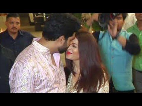 Aishwarya Rai Abhishek Bachchan   PDA   Caught On