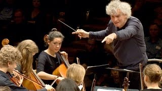 Download Lagu In rehearsal: Simon Rattle conducts 6 Berlin school orchestras Mp3