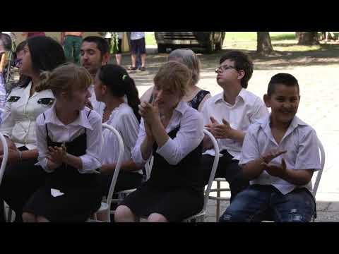 Ballagás az Éltes iskolában 2019