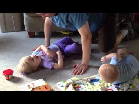 kids tickling