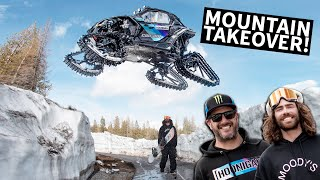 Video Ken Block Shreds A Mountain in his Can-Am on Tracks With Danny Davis! MP3, 3GP, MP4, WEBM, AVI, FLV Juli 2019