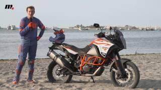 9. KTM 1290 Super Adventure R | Presentación / Primera Prueba / Test / Review en español | motos.net