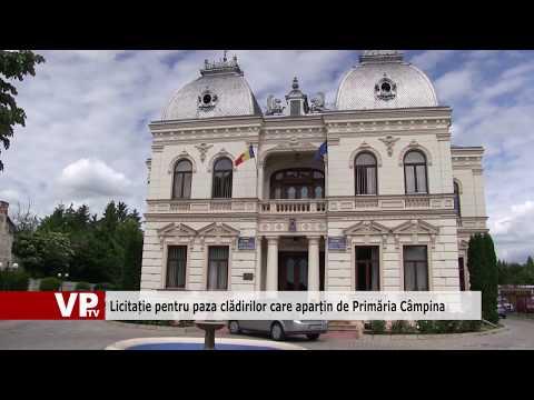 Licitație pentru paza clădirilor care aparțin de Primăria Câmpina