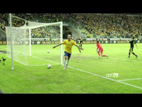 Prepara��o Copa Am�rica: Brasil vence o M�xico em S�o Paulo. Veja os lances!