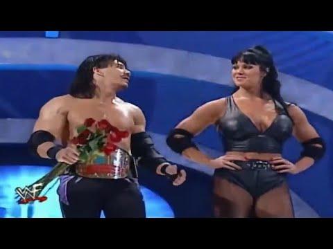 Eddie Guerrero & Chyna vs Essa Rios & Lita, SmackDown May 04, 2000