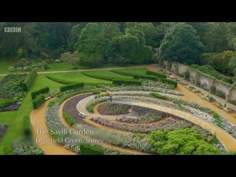 BBC Gardeners' World - Saville Gardens - Drone Footage