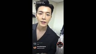 YESUNG (Super Junior) Instagram Live July 27, 2017 with SuJu Members