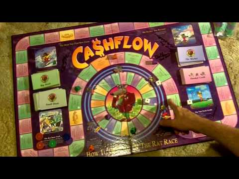 RICH DAD CLASSIC CASHFLOW 101 BOARD GAME WITH 3 AUDIO CDs