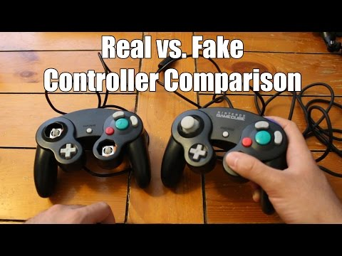 Differences Between Real & Fake Controllers