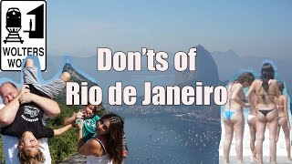 Rio de Janeiro, Brazil is an amazing tourist destination with tons of activities, sports, beaches, culture for vacationers to visit. However, with so many things to DO ...
