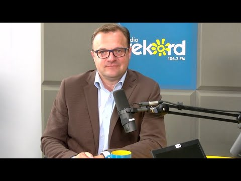 Poranna Rozmowa Radia Rekord i Telewizji Dami - gościem programu jest prezydent Radosław Witkowski